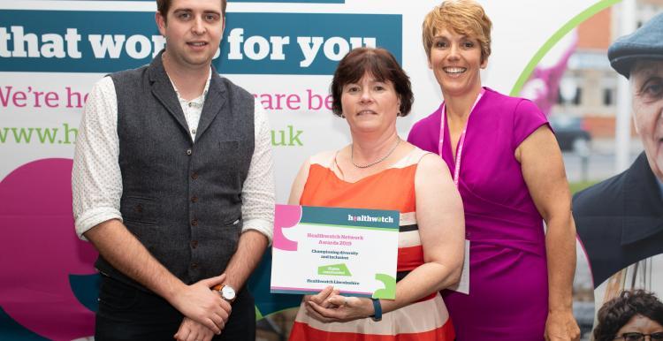 Healthwatch lincolnshire award