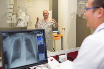 doctor xray patient