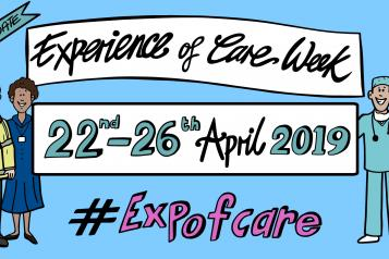 NHS expo of care week banner