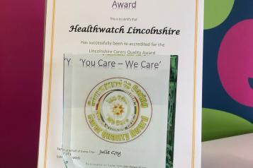 carers award