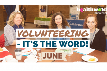 volunteering its the word june
