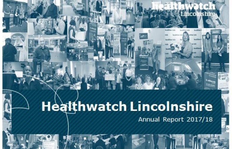 Healthwatch Annual Report 2017-18
